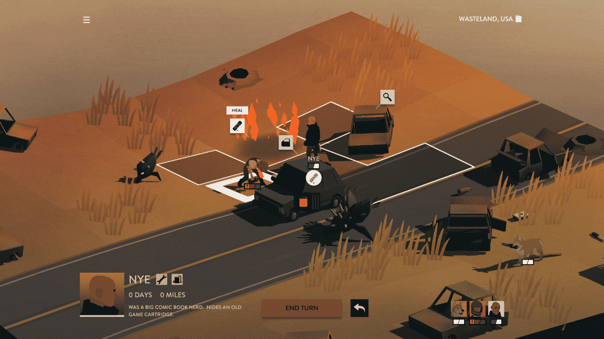 Overland fresh twist on the survival genre with a kick-ass art style
