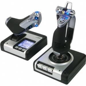 The Saitek X52 Pro Flight Control System