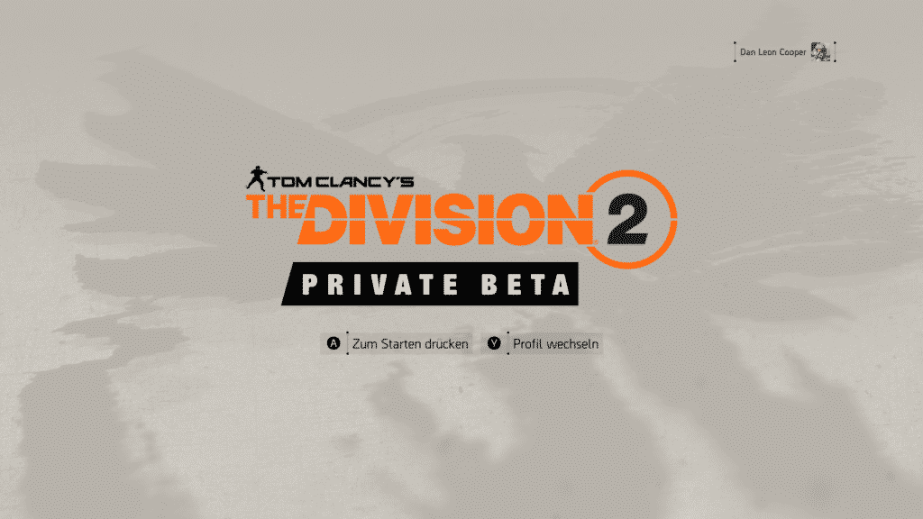 Tom Clancy The Division 2 private bet