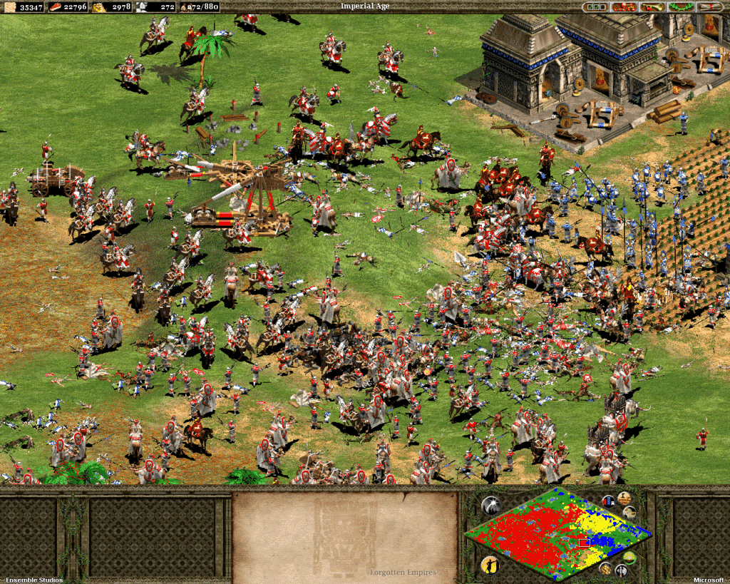 Age of Empirtes II PC Strategy Game