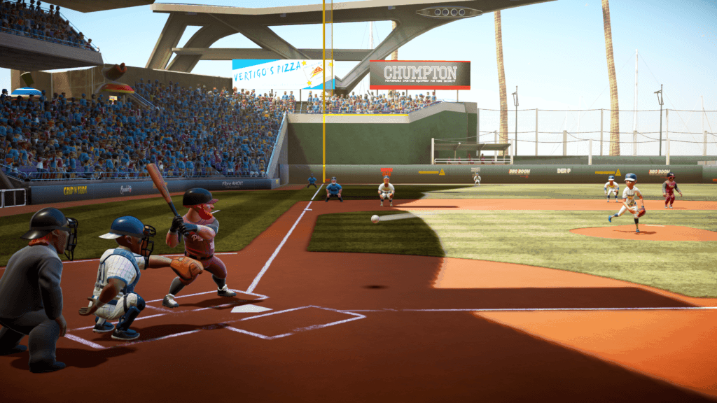 a very cute baseball game for PC