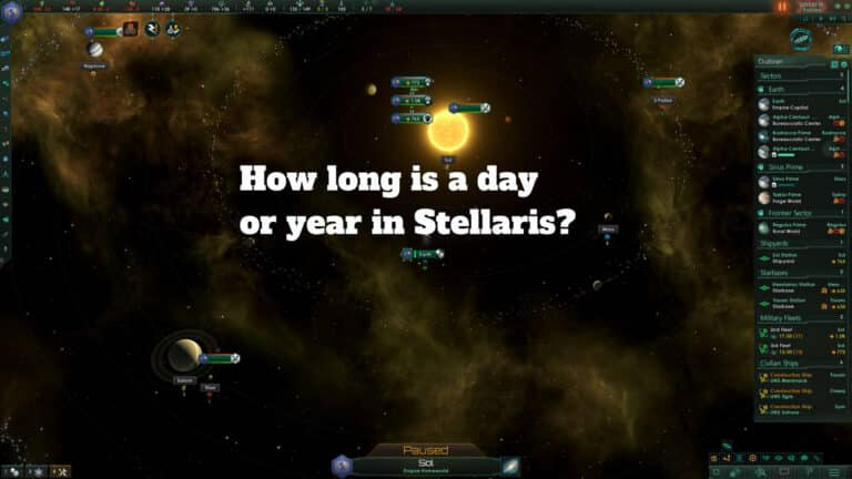 All about Stellaris Time [it's relative]